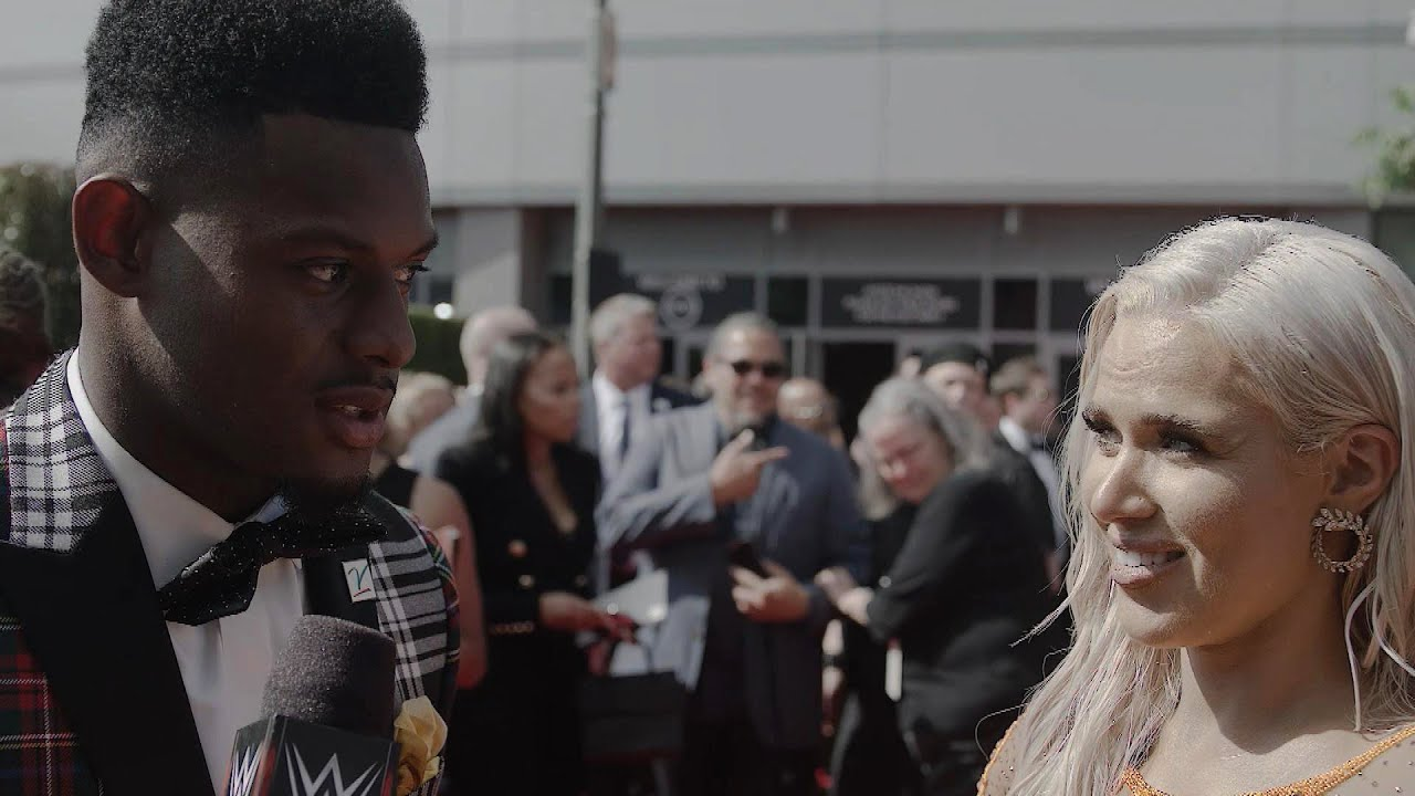 WWE Superstars and Cathy Kelley join celebrities and athletes on the 2018 ESPYS red carpet
