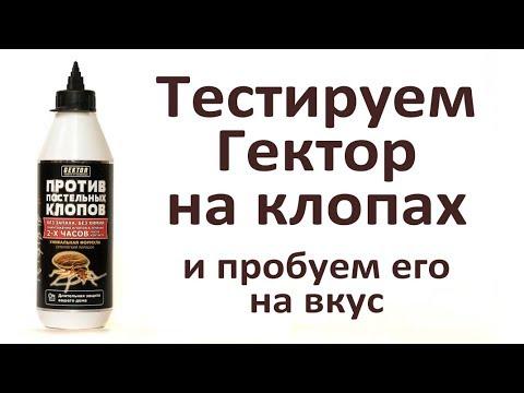 Гектор от клопов: самый безопасный для людей препарат