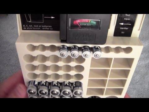 Cheap Yet Awesome Battery Organizer Review   Range Kleen Battery Store 66    Drawer Or Wall Mount   YouTube