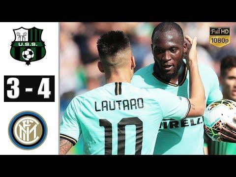 Sassuolo Vs Inter Milan 3-4 - All Gоals & Extеndеd Hіghlіghts - 2019