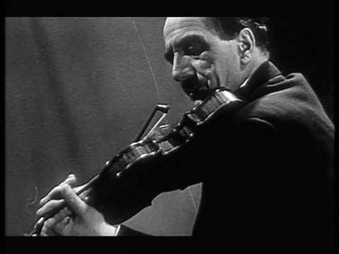 Jacques Thibaud- Franck Violin Sonata 3rd mvt