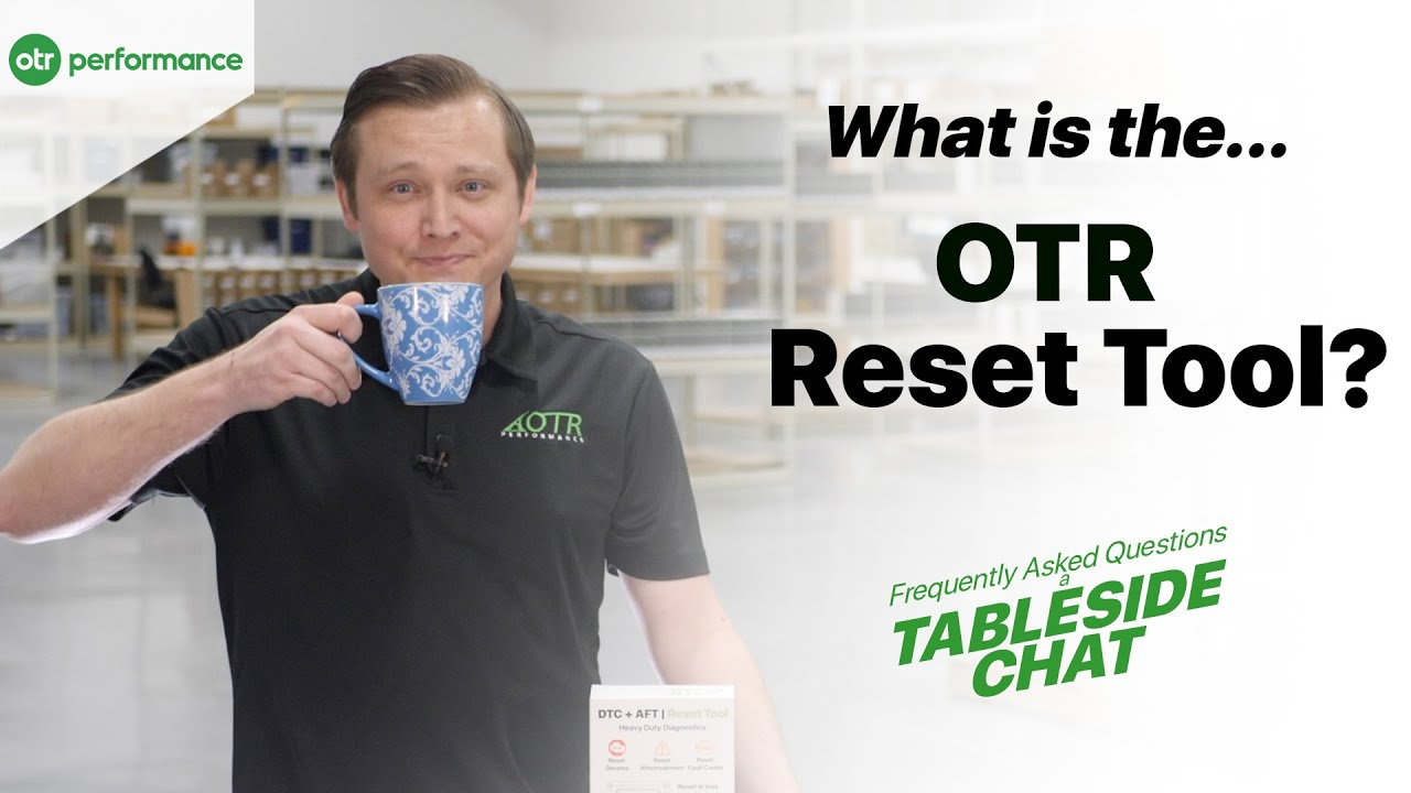 What is a DTC + AFT Reset Tool?