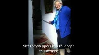 Woningaanpassing met Easysteppers om makkelijker TRAP te lopen en voor langer thuiswonen!