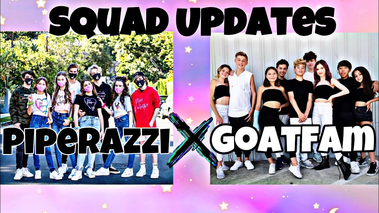 SQUAD UPDATES - PIPERAZZI AND GOATFAM 🐐💕 | Piper Rockelle, Gavin Magnus