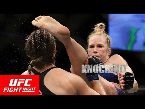UFC Fight Night: Holm vs. Correia Full Highlights | Holly Holm Knocks Out Bethe Correia