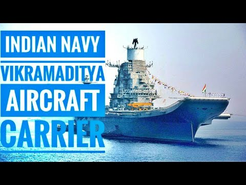 দেখুন ভারতীয় দের একমাত্র বিমানবাহী জাহাজ | INS Vikramaditya | Aircraft Carrier | Bangla Review