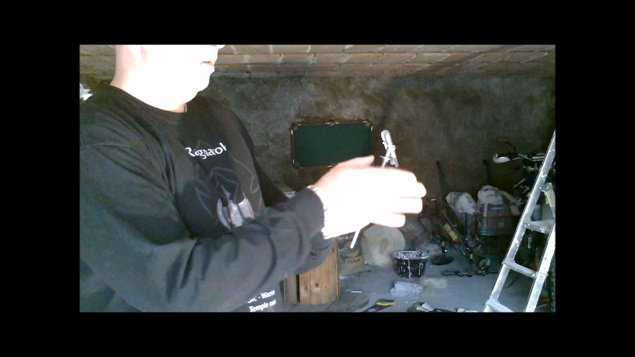 Suspente à Bascule Pour Rail Plafond Placo Youtube