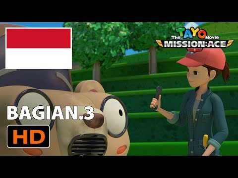 Kumpulan Kartun Lucu Animasi L Tayo Movie Bahasa Indonesia L Misi Penyelamatan Ace L Bagian 3
