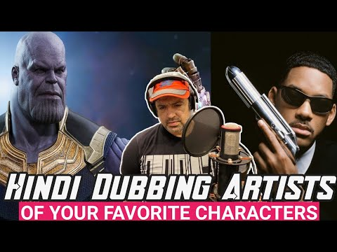 |A Professional Voice Actor Mr.Ninad Kamat|A WONDERFUL DUBBING ARTIST MR.NINAD KAMAT SIR