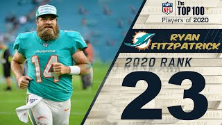 #23 Ryan Fitzpatrick (QB Dolphins)   Top 100 Players of 2019 NFL