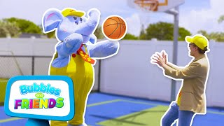 Learning at the Playground | Color Hunt with Bubbles the Elephant | Kids Videos for Kids