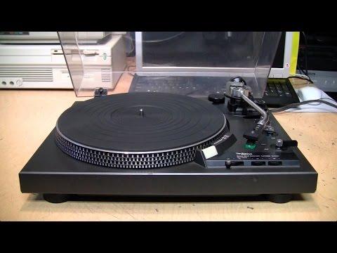 Technics SL-1900 turntable repair & review