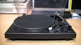Technics SL-1900 turntable repair & review
