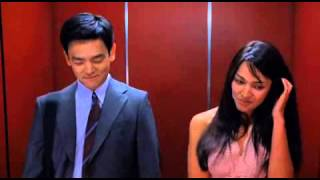 Harold and Kumar - elevator scene - don't be shy