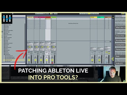 How to Use Ableton Live as a Virtual Instrument in Pro Tools