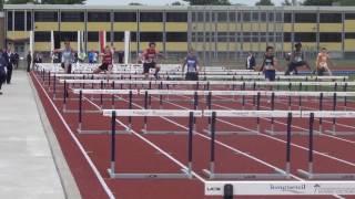 Provinciaux Scolaire 2016 - 100mH Final Cadet Homme