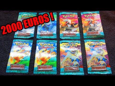 Ouverture de 8 Boosters Pokémon EX ULTRA RARE A 2000 EUROS ! UNE EX INCROYABLE !