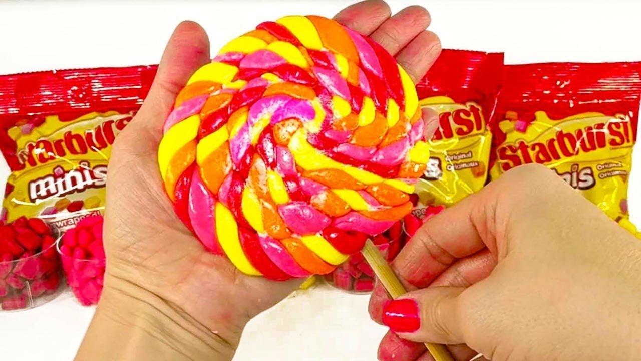 DIY STARBURST GIANT Lollipop!! 4