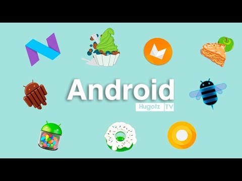 Historia de Android 1.0 - 8.0