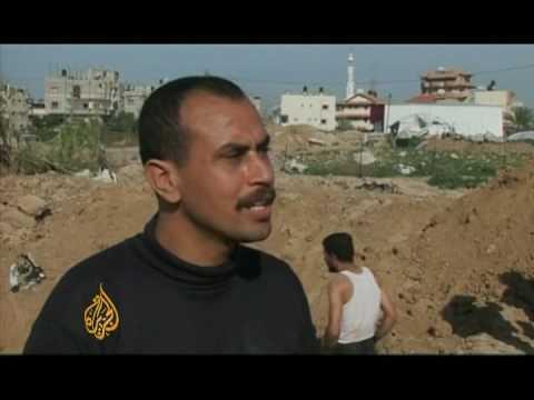 Traders rebuild their tunnels in Gaza - 22 Jan 09