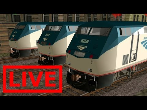 MBTA From North Wilmington to Haverhill: Trainz Simulator 12  Live Stream