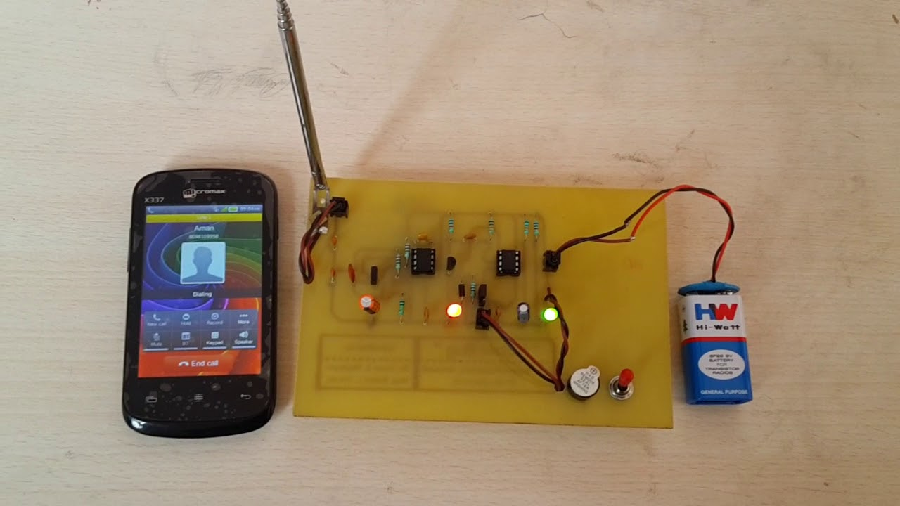 Mobile Detector Electronic Mini Project - 1/2