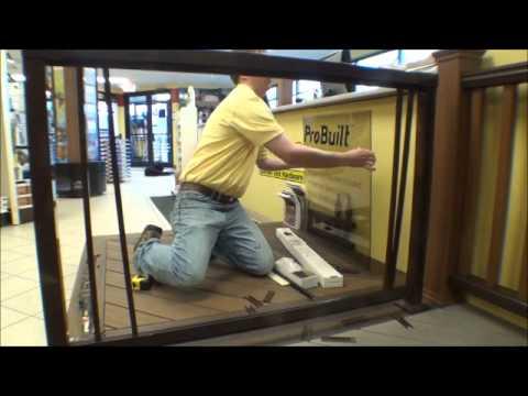 The Deck Store Probuilt Aluminum Railing Installation