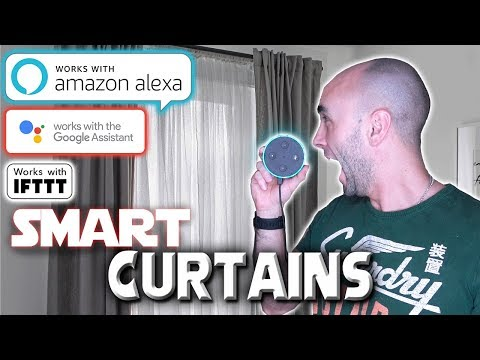 Alexa And Google Home Enabled Curtain Track Motor