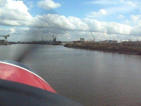 Glasgow water landing