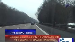 RTL-Radio DRM mobil Autobahn