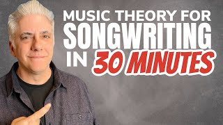 Music Theory for Songwriting in 30 Minutes! (Xmas Sale)