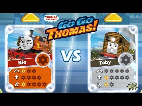 Thomas & Friends: Go Go Thomas | NEW UPDATE 2018, NIA Vs TOBY! By Budge
