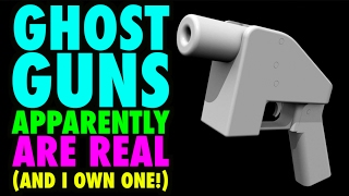 Ghost Guns are REAL!!! (and apparently I own one)