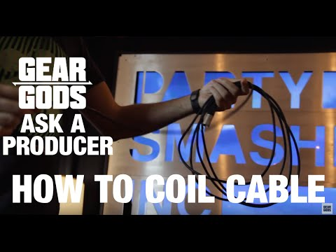 How to Coil a Cable and Cable Management | ASK A PRODUCER