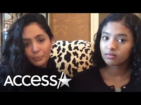 Vanessa Bryant & Daughter Natalia React to Kobe's Hall of Fame Induction In Rare Moment