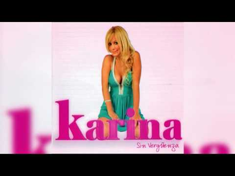 08 - Karina - Te Quise Olvidar (Audio)