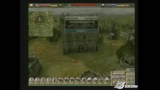 Imperial Glory PC Games Gameplay - Castle tour