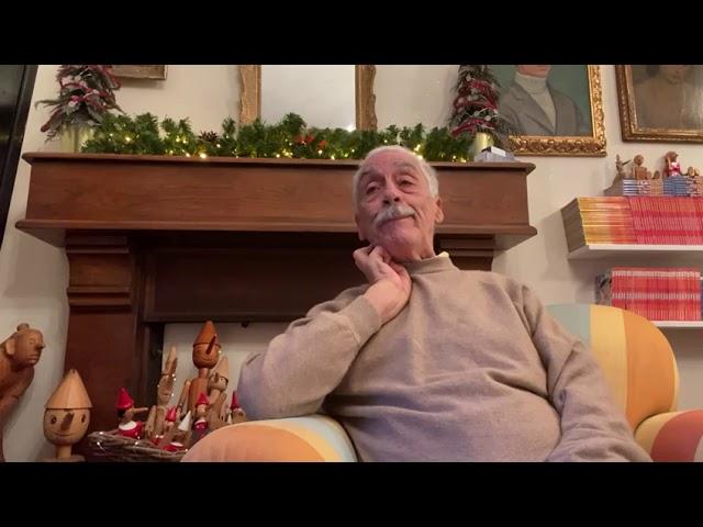 Gli affettuosi Auguri del Prof. Antonio Guidi per un 2021 ricco di pace e serenità