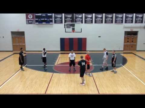 Defending Ball Screens - Hedge and Recover - Jim Huber Defense