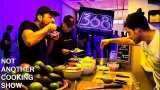 making a GUACAMOLE BAR at CASEY NEISTAT'S 368
