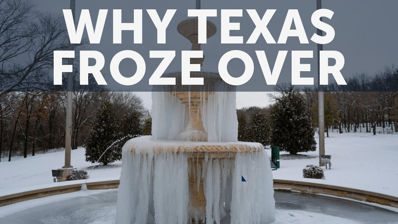 Why Texas Froze Over | The Future of Energy
