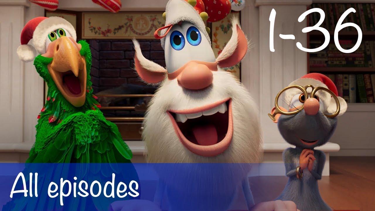 Booba - Compilation of All 36 episodes + Bonus - Cartoon for kids