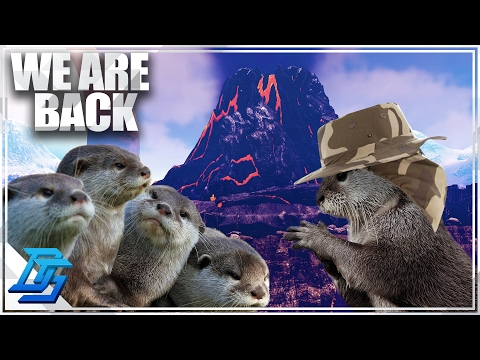Otter Team 7 Are BACK, The Volcano Map PvP  Ark Survival Evolved  Part 1 Volcano PvP