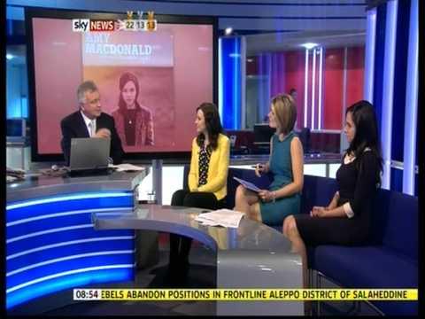 Amy Macdonald interview on Sky News' Sunrise