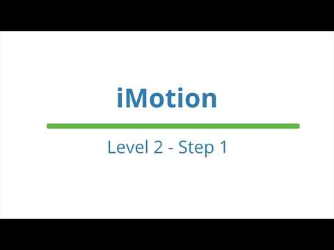 iMotion - Level 2 - Step 1 || Cocoon