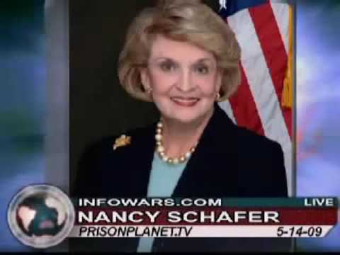 Alex Jones Show - senator Nancy Schaefer interview, CPS 14-05-09 part 14