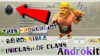 This Should Not Be Possible In Clash Of Clans|Very Strange Clan In COC|Clash Of Clans Strange Things