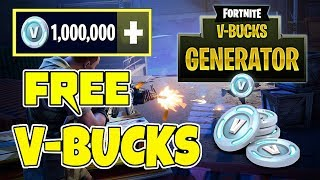 How to get free v bucks fortnite Skins | Free Fortnite vbucks | Free v bucks hack 2018 ps4.