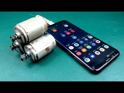 100% Free Energy Mobile Charging Using DC motors generator self running machine  Very easy At Home