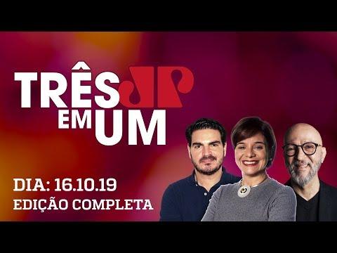 Jair Bolsonaro diz que não quer tomar o controle do PSL - 3 em 1 - 16/10/2019